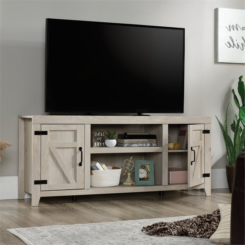 """Popular Sauder Engineered Wood Tv Stand For Tvs Up To 70"""" In Pertaining To Lorraine Tv Stands For Tvs Up To 70"""" (View 20 of 25)"""