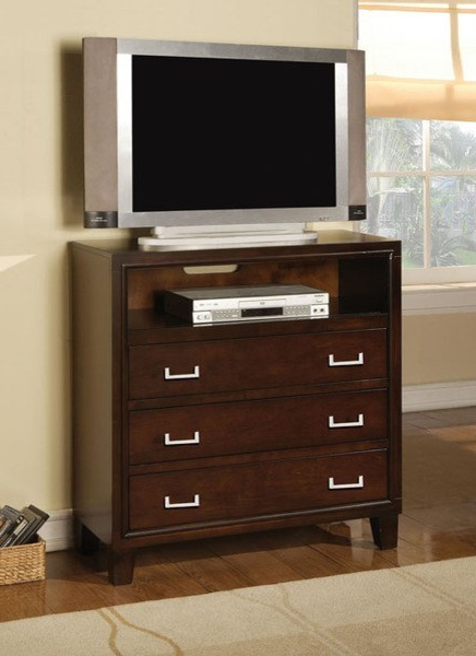 Preferred Acme Furniture – Preston Espresso 3 Drawers Tv Console With Manhattan 2 Drawer Media Tv Stands (View 19 of 25)