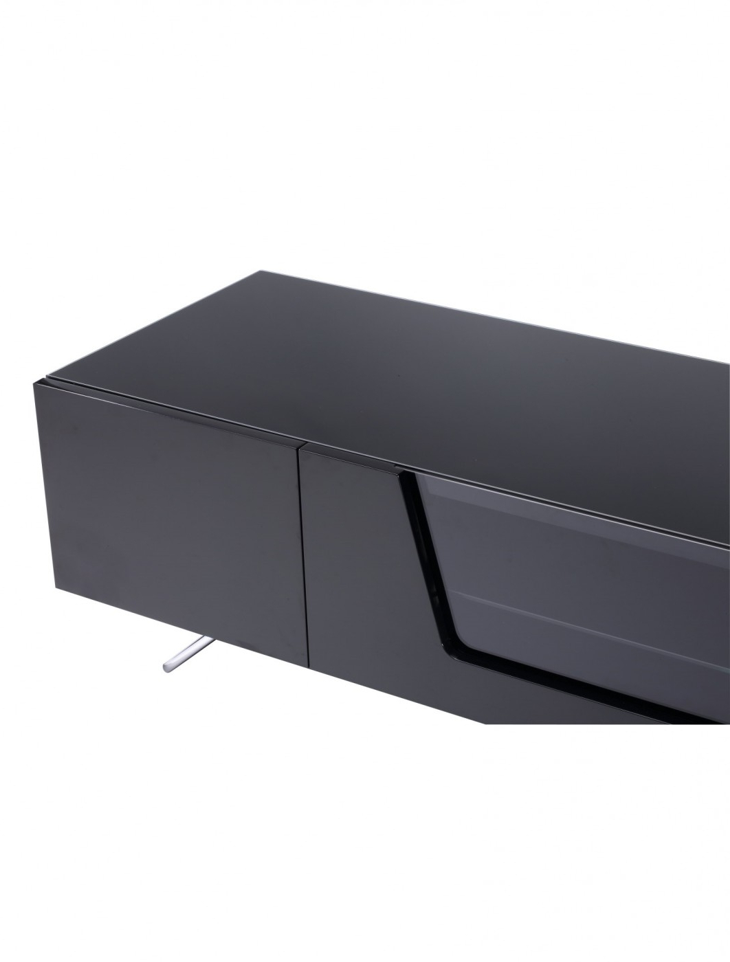 Preferred Alphason Chromium Cantilever Tv Stand Cro2 1600bkt Bk In Chromium Tv Stands (View 20 of 25)