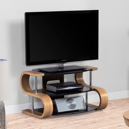 Preferred Compton Ivory Corner Tv Stands With Baskets With Regard To Corsair Oak S Tv Stand (View 9 of 25)
