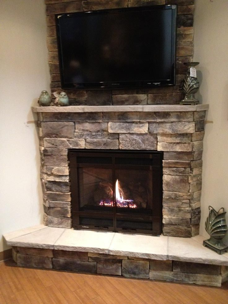 Preferred Electric Fireplace With Stone Mantel (View 23 of 25)
