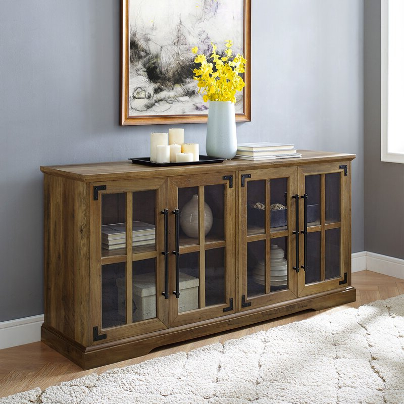 """Preferred Gracie Oaks Dougan Tv Stand For Tvs Up To 65"""" & Reviews Pertaining To Tv Stands For Tvs Up To 65"""" (View 22 of 22)"""