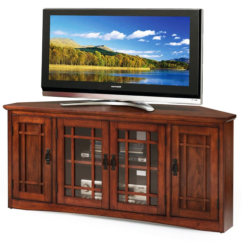 """Preferred Hal Tv Stands For Tvs Up To 60"""" In Darby Home Co Magdalena Corner Tv Stand For Tvs Up To  (View 14 of 25)"""
