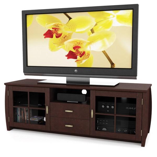 Preferred Jackson Corner Tv Stands Pertaining To Sonax Washington Wood Espresso 59 Inch Entertainment (View 6 of 25)