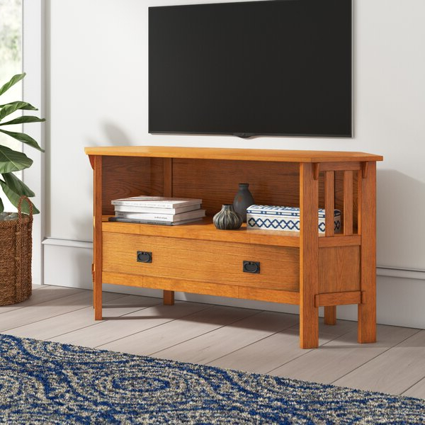 """Preferred Mistana Oyola Corner Tv Stand For Tvs Up To 43"""" Reviews Regarding Orrville Tv Stands For Tvs Up To 43"""" (View 10 of 25)"""