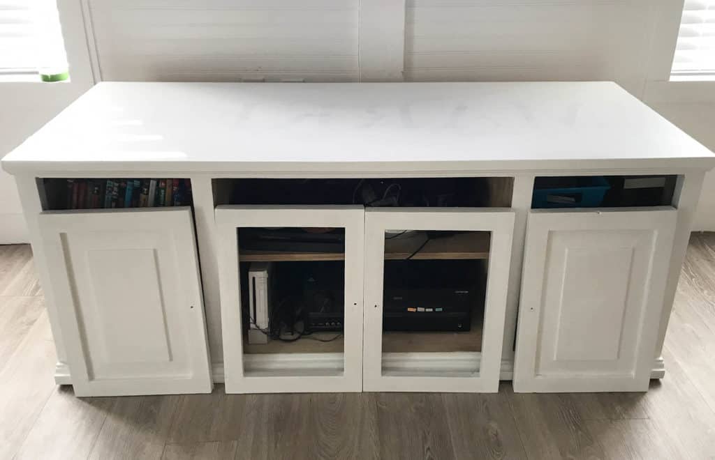Preferred Moody Eclectic Tv Stand Makeover With Cane Webbing With Regard To Lucy Cane Cream Corner Tv Stands (View 22 of 25)