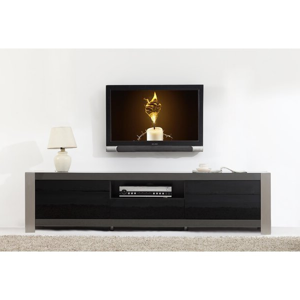 """Preferred Orren Ellis Lamine Tv Stand For Tvs Up To 88"""" & Reviews In Ailiana Tv Stands For Tvs Up To 88"""" (View 14 of 25)"""