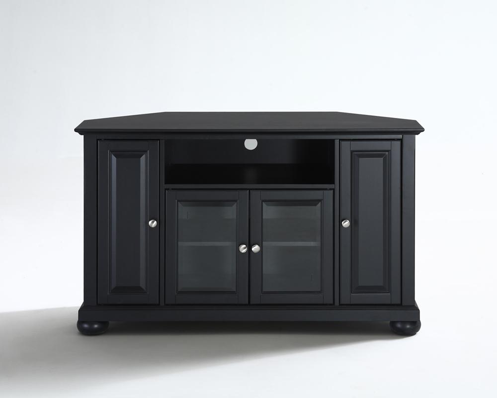 "Priya Corner Tv Stands Within 2018 Crosley Furniture – Alexandria 48"" Corner Tv Stand In (View 9 of 25)"