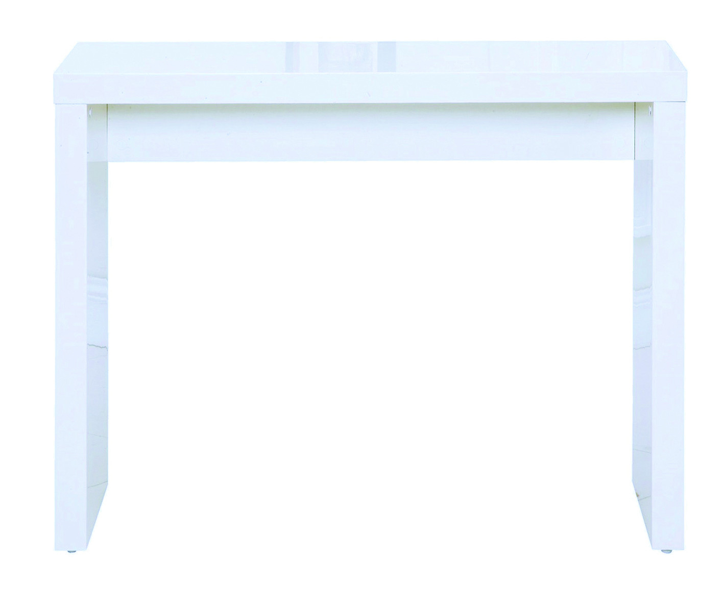 Puro Console Table White – Hall Furniture (View 4 of 10)