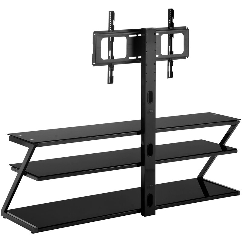 Randal Symple Stuff Black Swivel Floor Tv Stands With Shelving For Best And Newest Symple Stuff Anatoli Symple Stuff Swivel Floor Stand Mount (View 14 of 25)