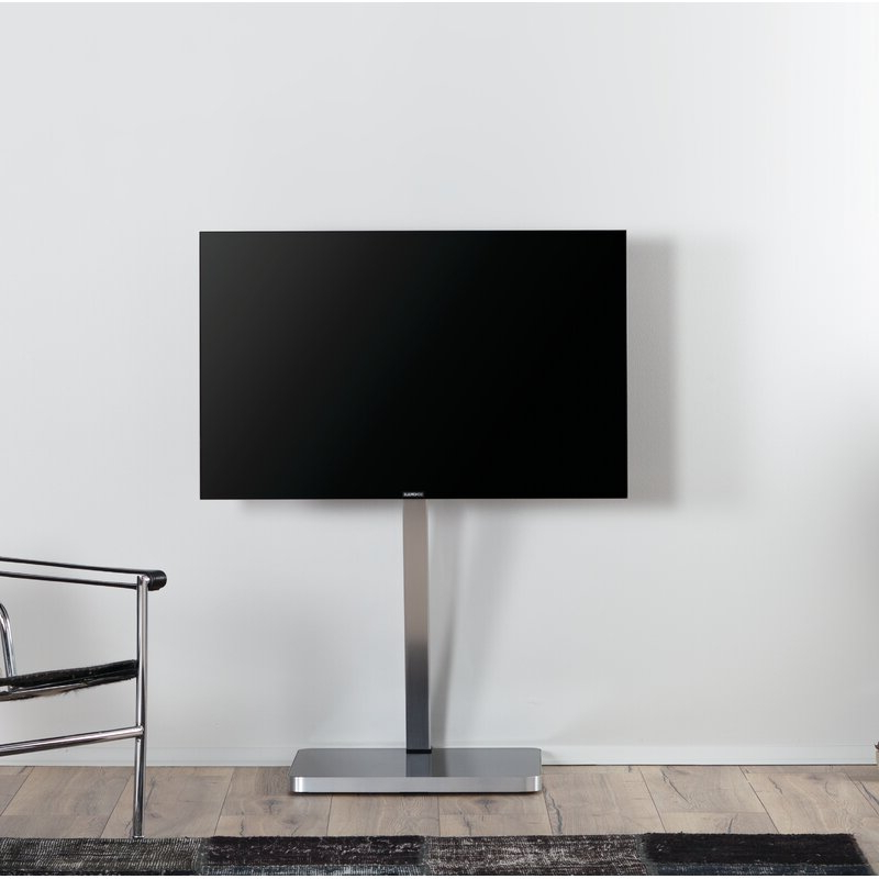 Randal Symple Stuff Black Swivel Floor Tv Stands With Shelving With Regard To Preferred Symple Stuff Minimalist Cantilever Glass And Aluminium (View 21 of 25)