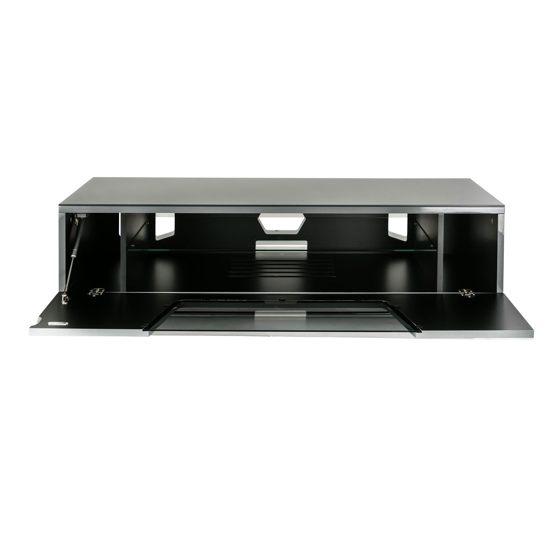 """Recent Alphason Chromium 2 120cm Grey Tv Stand For Up To 60"""" Tvs In Chromium Tv Stands (View 5 of 25)"""