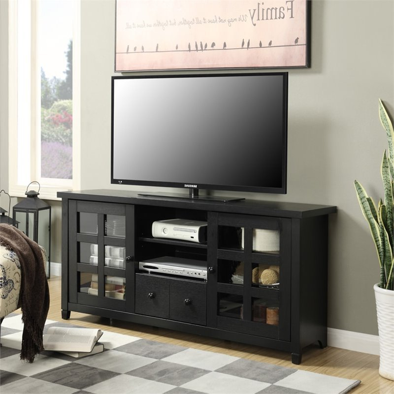 """Recent Convenience Concepts Newport Marbella 60"""" Tv Stands Inside Convenience Concepts Newport 60"""" Park Lane Tv Stand In (View 8 of 10)"""