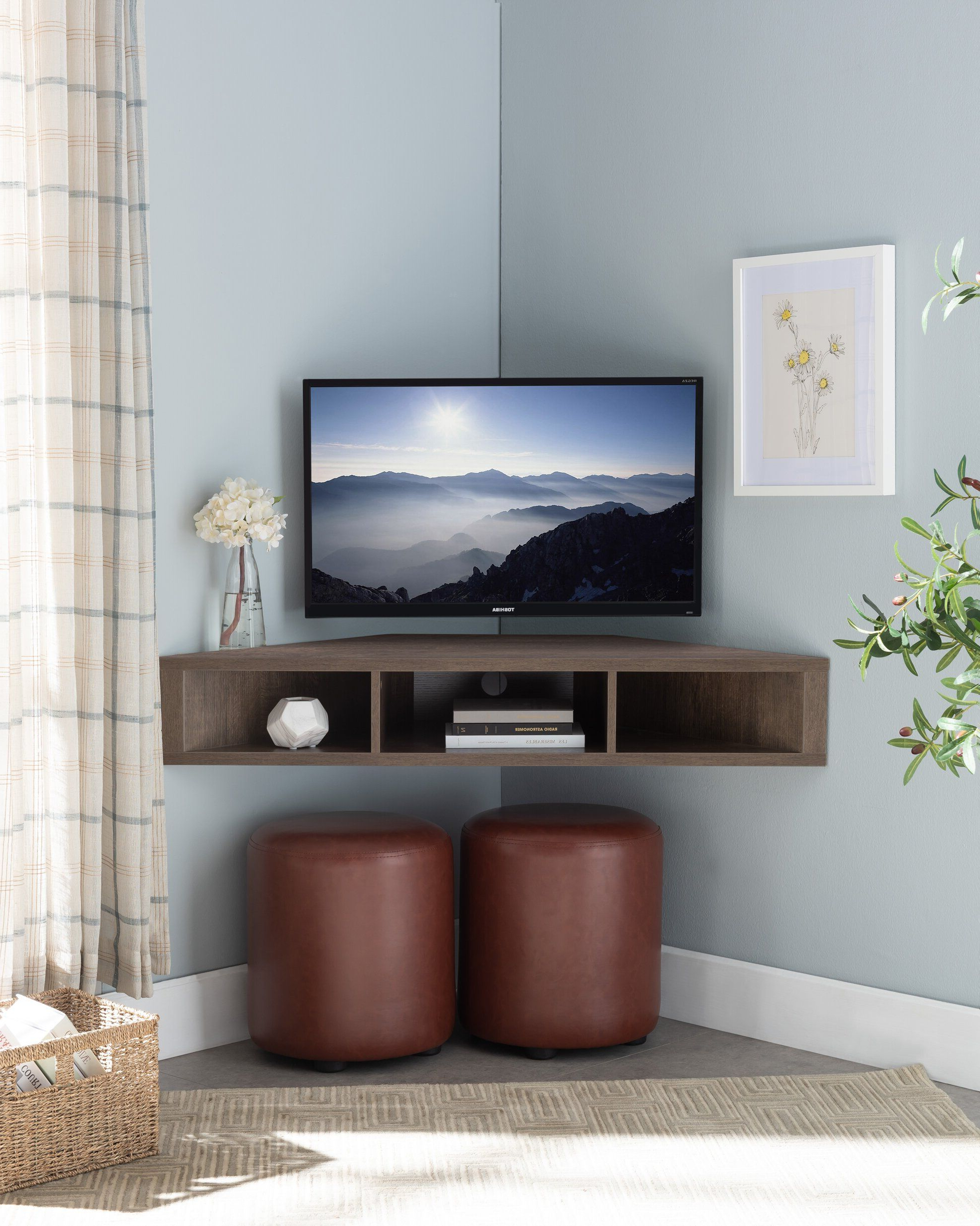 """Recent French Floating Corner Tv Stand For Tvs Up To 50"""" In 2020 With Aaliyah Floating Tv Stands For Tvs Up To 50"""" (View 1 of 25)"""