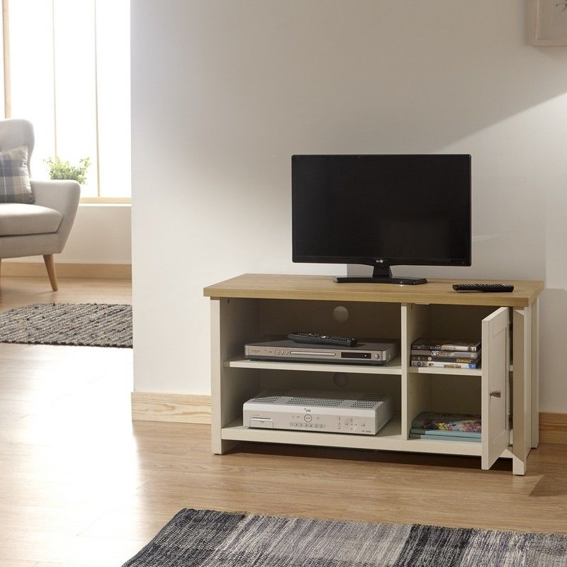 Recent Lancaster Cream Small Tv Unit – One Stop Furniture Online Pertaining To Lancaster Large Tv Stands (View 3 of 10)