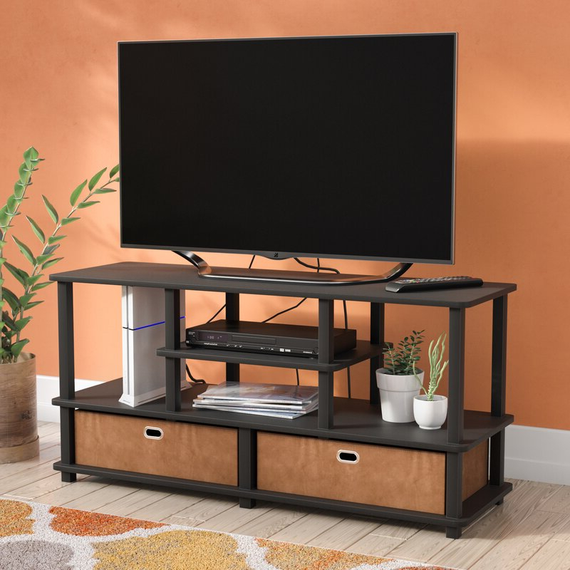 """Recent Leonid Tv Stands For Tvs Up To 50"""" Inside Ebern Designs Lansing Tv Stand For Tvs Up To 50"""" & Reviews (View 4 of 25)"""