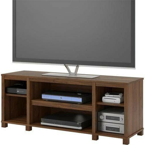 Recent Mainstays 4 Cube Tv Stands In Multiple Finishes Regarding Entertainment Cubby Tv Stand, Up To 50 Inch Tv, Walnut (View 8 of 10)