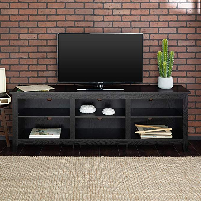 Recent New 70 Inch Wide Black Television Stand Review (View 3 of 25)
