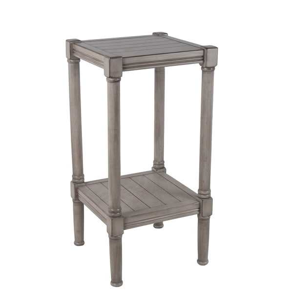Recent Shop Privilege Oyster Square Accent Table (View 9 of 10)