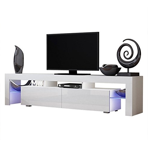 Recent Solo 200 Modern Led Tv Stands For Concept Muebles Tv Stand Milano 200 / Modern Led Tv (View 2 of 10)