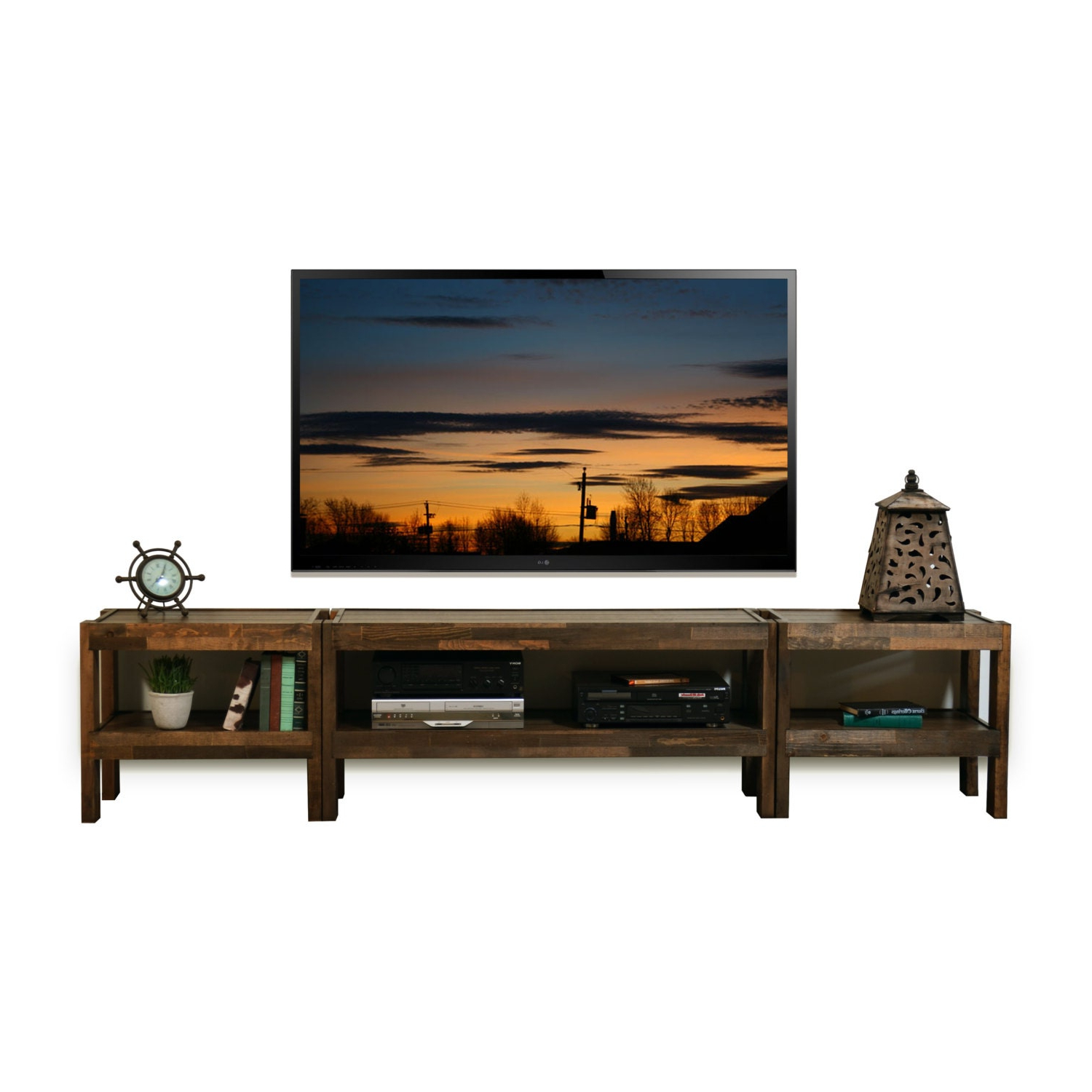 Reclaimed Wood Tv Stand Pallet Wood & Barn Wood In Popular Entertainment Center Tv Stands Reclaimed Barnwood (View 5 of 10)