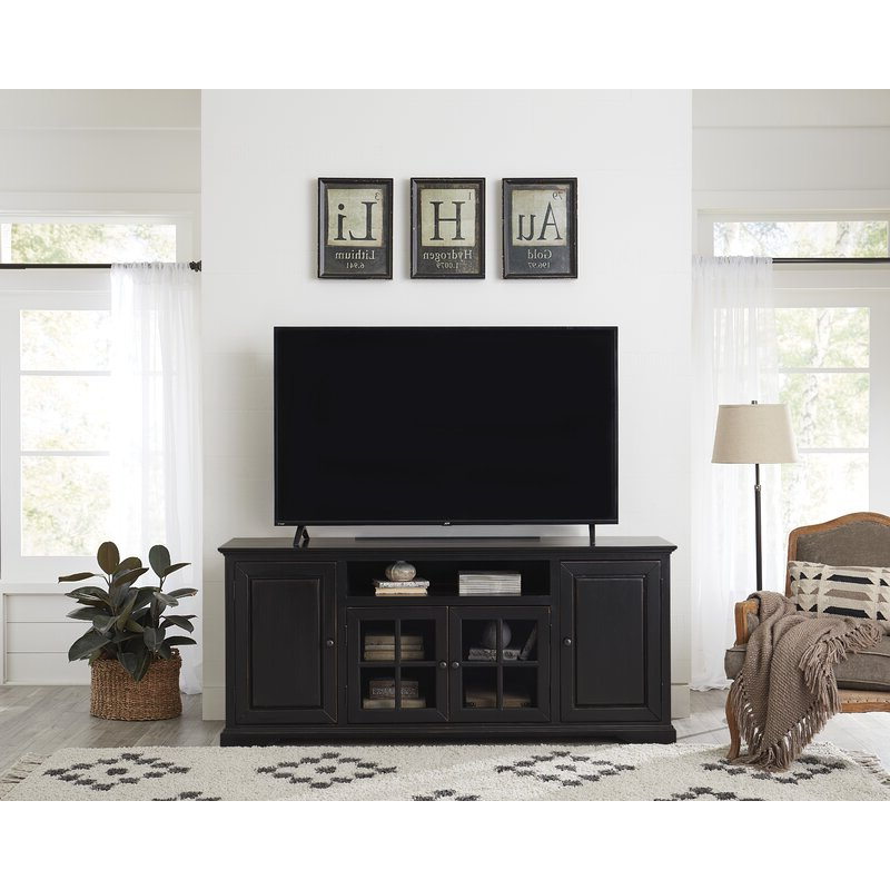 """Red Barrel Studio® Licola Tv Stand For Tvs Up To 85 Intended For Most Current Bustillos Tv Stands For Tvs Up To 85"""" (View 4 of 25)"""