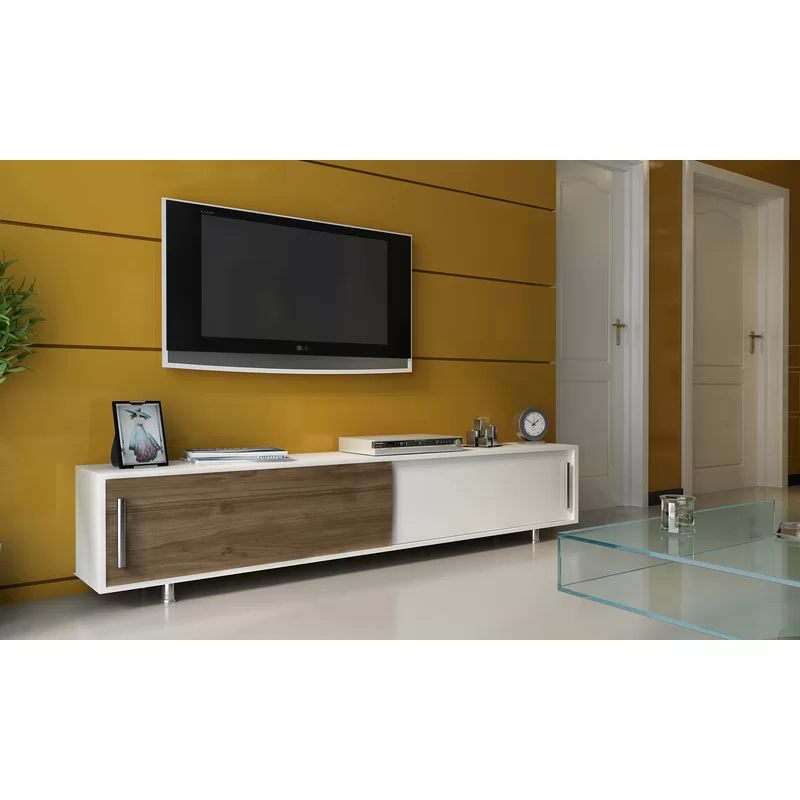 """Sandefur Cabinet Tv Stand For Tvs Up To 78 Inches In Best And Newest Grandstaff Tv Stands For Tvs Up To 78"""" (View 4 of 25)"""