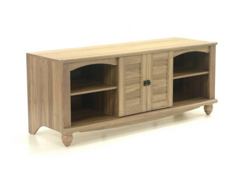 Sauder 415055 Harbor View Collection Entertainment For Popular Harbor Wide Tv Stands (View 17 of 25)