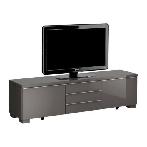 Scandi 2 Drawer Grey Tv Media Unit Stands Regarding Well Liked Ikea Australia (View 8 of 10)