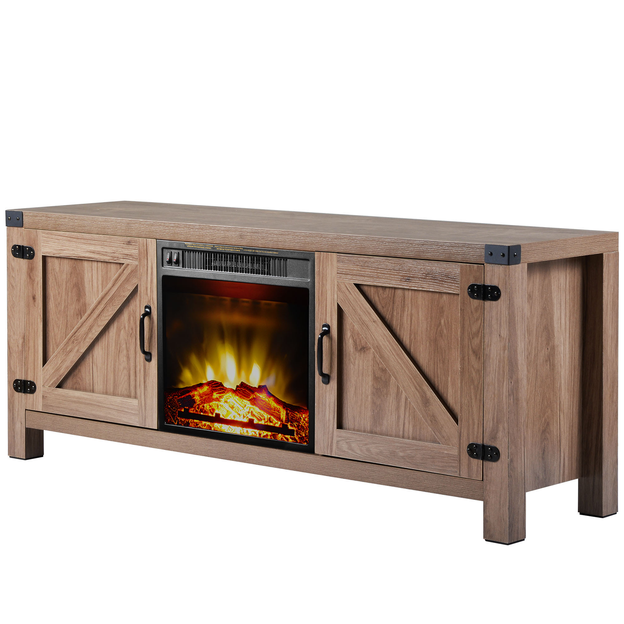 """Segmart Fireplace Tv Stands For Tvs Up To 65"""", Rustic For Well Liked Totally Tv Stands For Tvs Up To 65"""" (View 10 of 25)"""