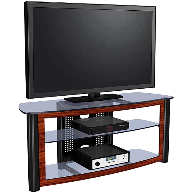 Shop Exp Entertainment 55 Inch Flat Panel Tv Stand – Free For Most Recently Released Farmhouse Sliding Barn Door Tv Stands For 70 Inch Flat Screen (View 9 of 10)