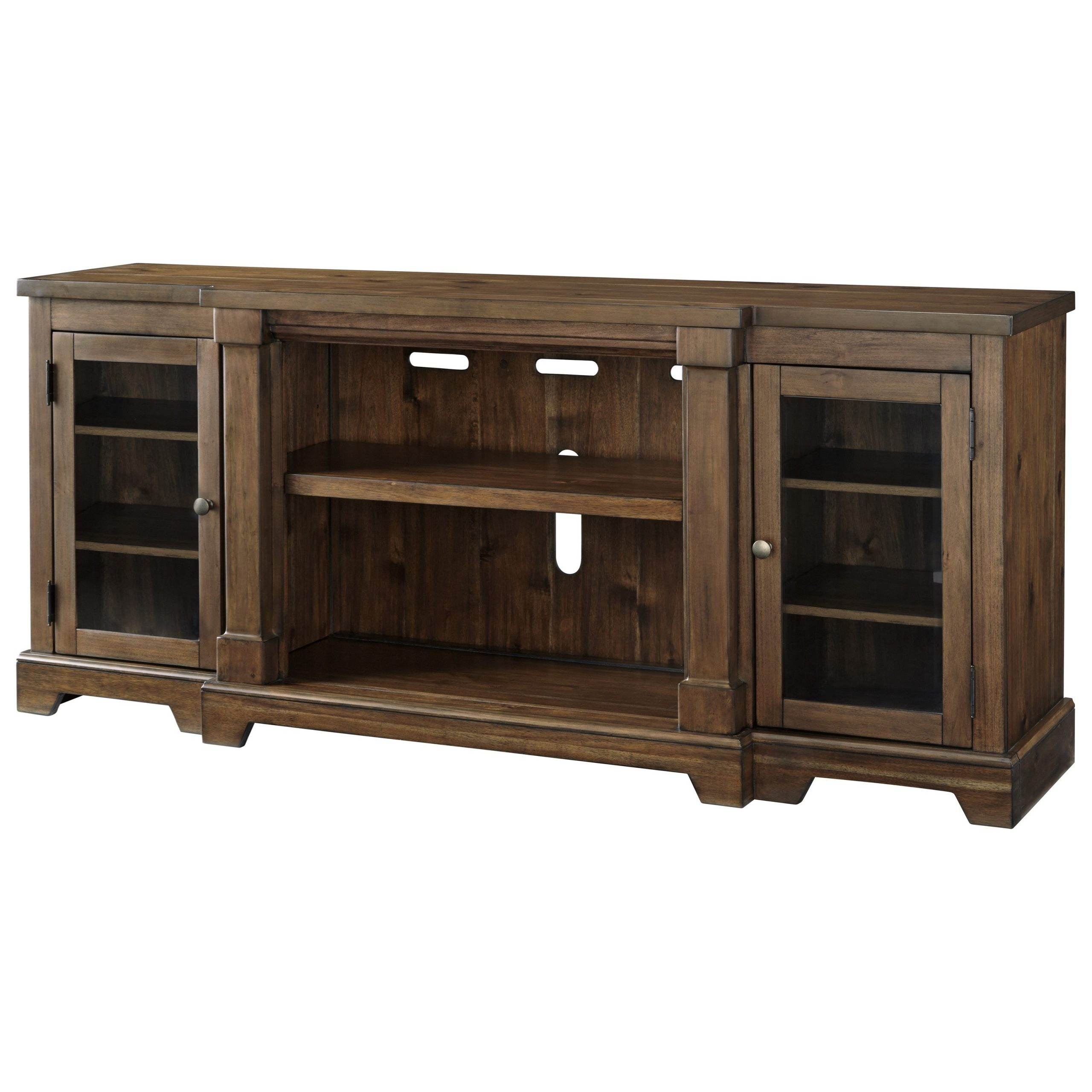 Signature Designashley Flynnter Breakfront Extra Large With 2018 Orsen Wide Tv Stands (View 14 of 25)