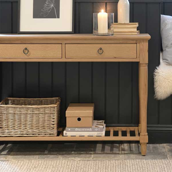 Solid Wood Living Room Furniture From The Cotswold Company In Fashionable Cotswold Cream Tv Stands (View 10 of 10)