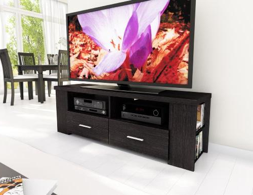 Sonax B 101 Rbt Bromley Tv Stand, Ravenswood Black Regarding Favorite Bromley Black Wide Tv Stands (View 8 of 10)