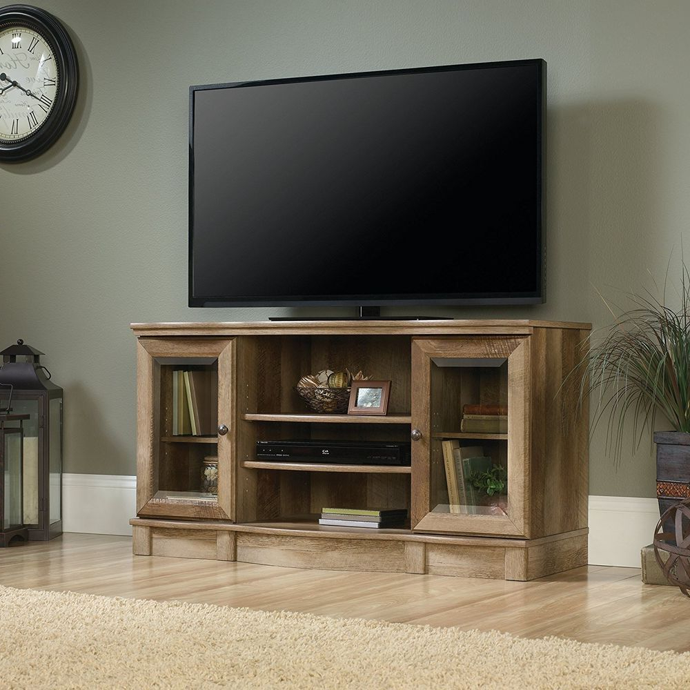 Space Saving Black Tall Tv Stands With Glass Base Pertaining To Most Up To Date Pin On Furniture & More (View 9 of 10)
