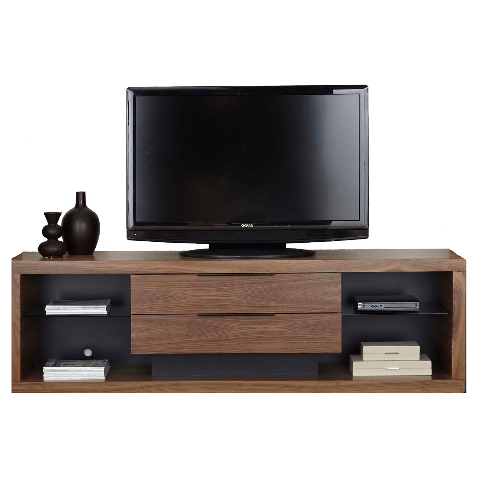 Stratus 80 Inch Tv Standmartin Home Furnishings In Current Deco Wide Tv Stands (View 9 of 10)