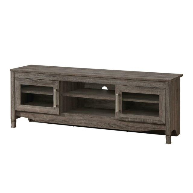 """Techni Mobili 53"""" Driftwood Tv Stands In Grey Throughout Recent Techni Mobili Rta 8855 Gry Tv Stand – Grey For Sale Online (View 2 of 10)"""