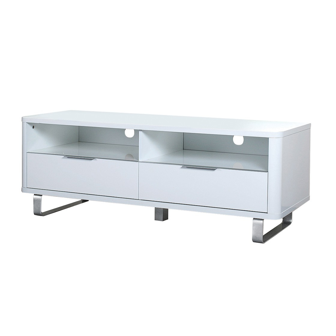 Tiva Ladder Tv Stands Pertaining To Latest Accent Sideboard White – Furnmart® (View 6 of 10)