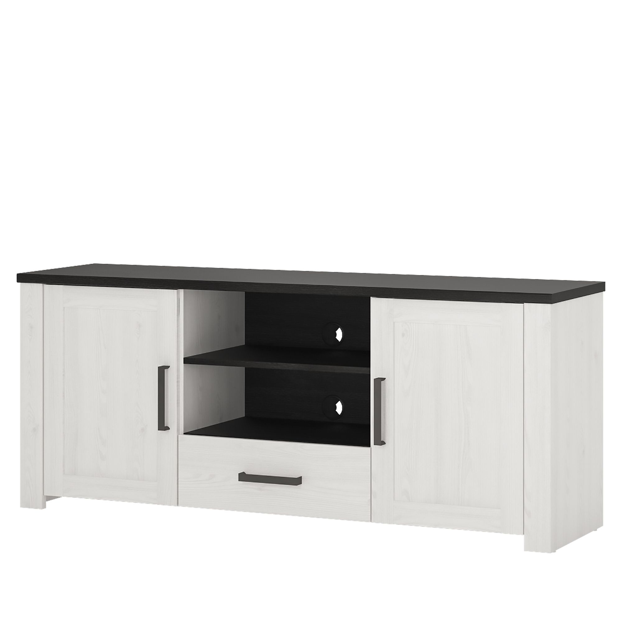 Tiva Ladder Tv Stands Throughout Most Recently Released Provence High Tv Cabinet 2 Door 1 Drawer (View 3 of 10)
