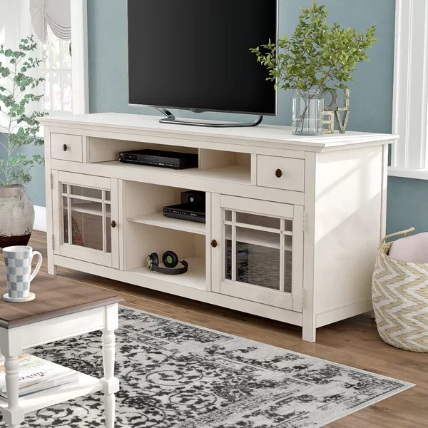 """Trendy Darby Home Co Julee Tv Stand For Tvs Up To 78 Inches Regarding Grandstaff Tv Stands For Tvs Up To 78"""" (View 24 of 25)"""
