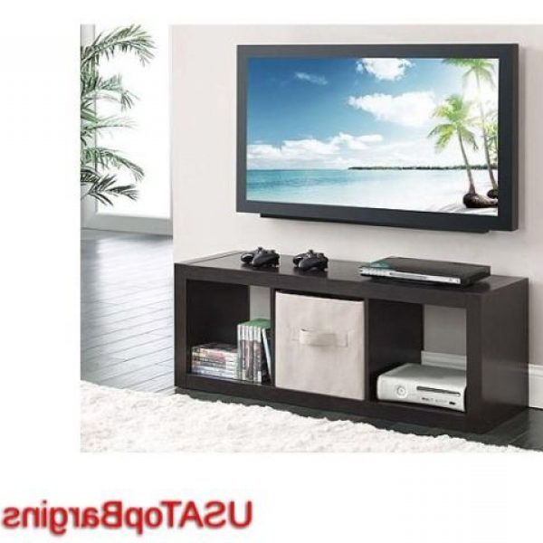 Trendy Mainstays 4 Cube Tv Stands In Multiple Finishes Throughout Birch Storage (View 5 of 10)
