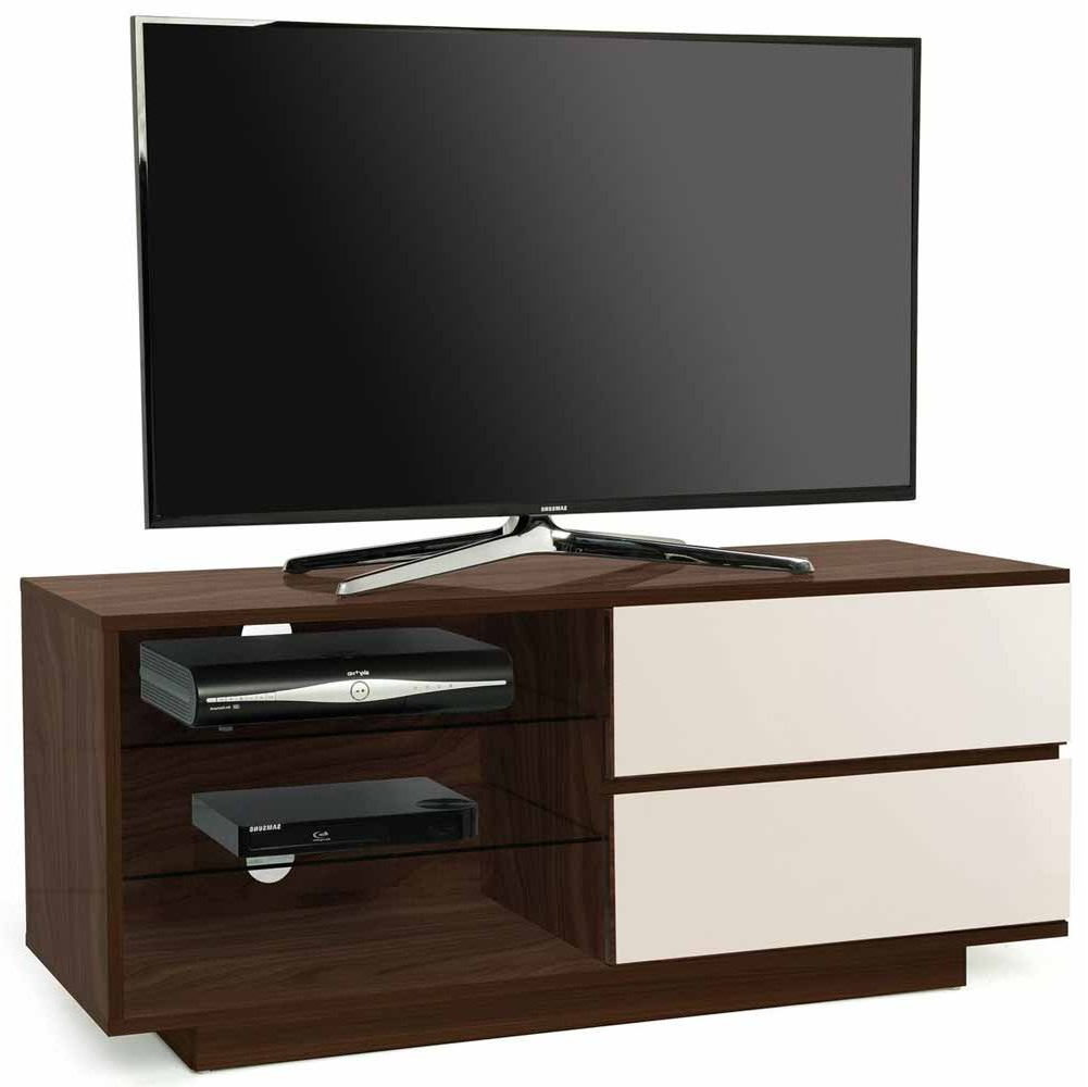 Trendy Mda Designs Gallus Walnut/ivory Tv Stands Within Compton Ivory Extra Wide Tv Stands (View 5 of 25)