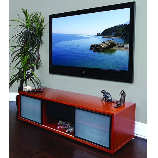 """Trendy Plateau Sr V 65 Wb B Tv Stand Up To 70"""" Tvs In Walnut With Regard To Tv Stands For Tvs Up To 65"""" (View 15 of 22)"""