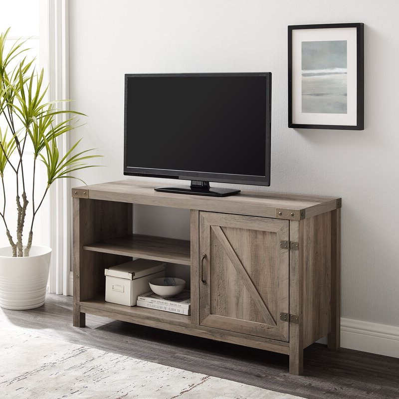 """Trent Austin Design® Adalberto Tv Stand For Tvs Up To 50 Throughout Favorite Adalberto Tv Stands For Tvs Up To 78"""" (View 5 of 25)"""