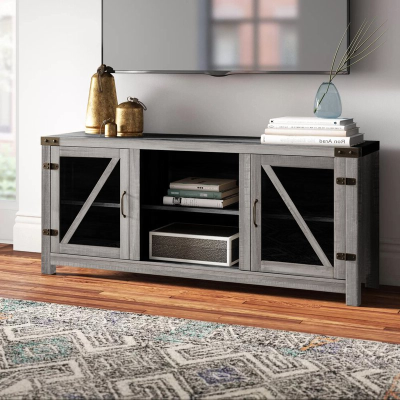 """Trent Austin Design® Adalberto Tv Stand For Tvs Up To 65 Throughout Latest Tv Stands For Tvs Up To 65"""" (View 9 of 22)"""
