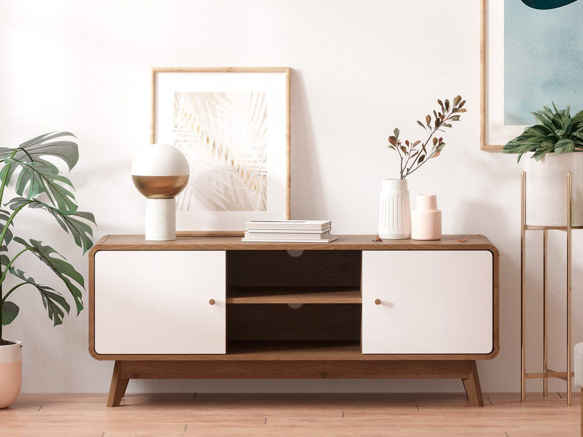Tv Cabinet Entertainment Unit (freya Collection) (View 6 of 10)