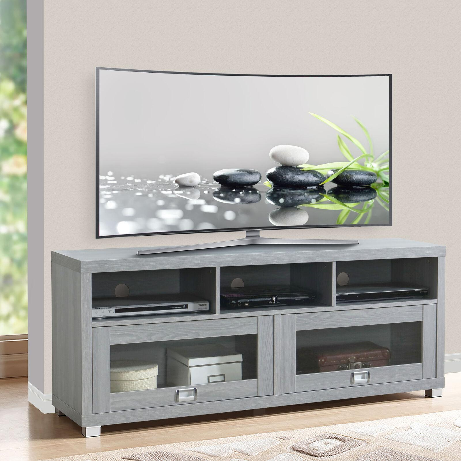 """Tv Stand 75 Inch Flat Screen Entertainment Medi With Regard To Well Liked Chrissy Tv Stands For Tvs Up To 75"""" (View 8 of 25)"""