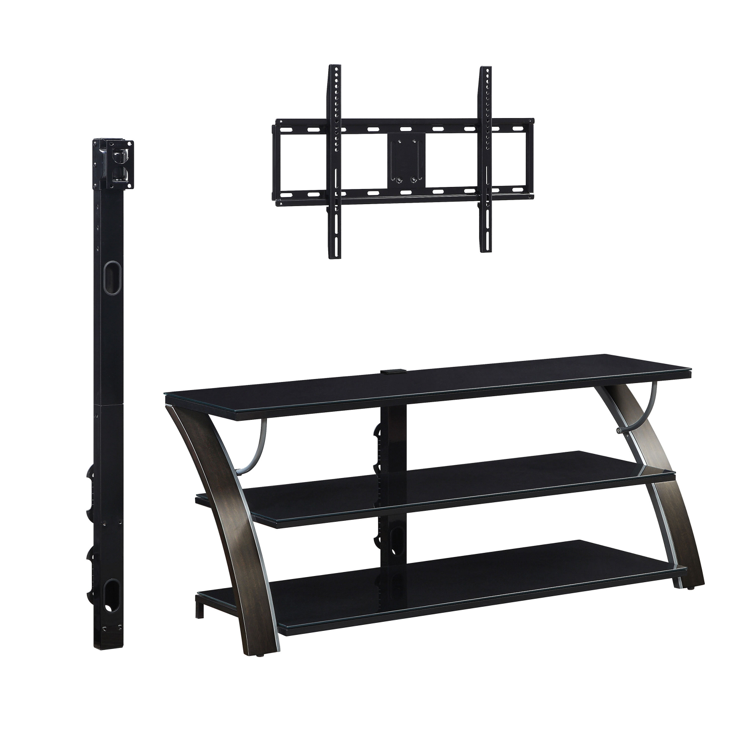 """Tv Stand Flat Panel For Tvs Up To 65"""" Screen Entertainment Regarding Most Popular Whalen Payton 3 In 1 Flat Panel Tv Stands With Multiple Finishes (View 10 of 10)"""