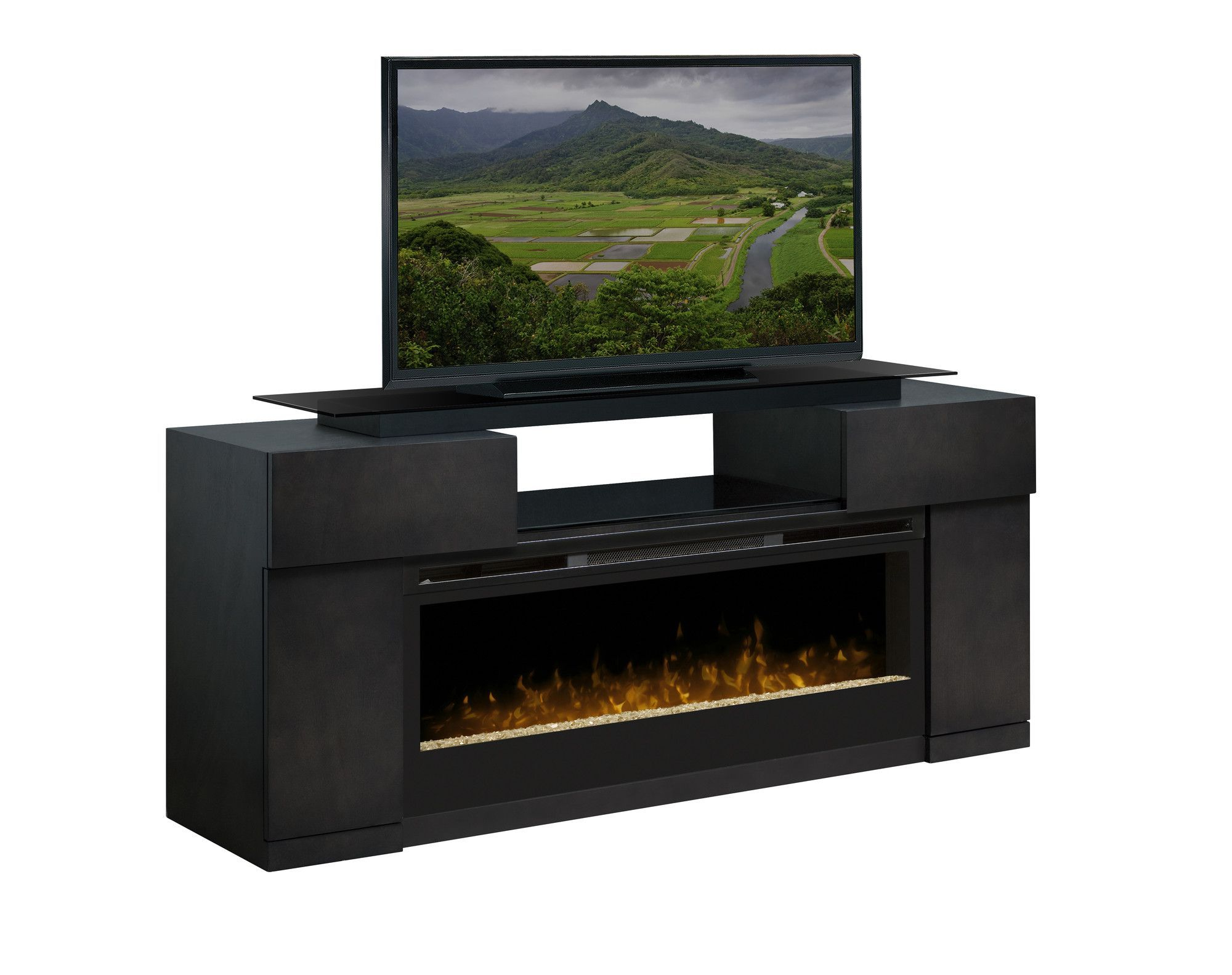 """Tv Stand For Tvs Up To 78 Inches With Fireplace Included Pertaining To Most Recent Chicago Tv Stands For Tvs Up To 70"""" With Fireplace Included (View 20 of 25)"""