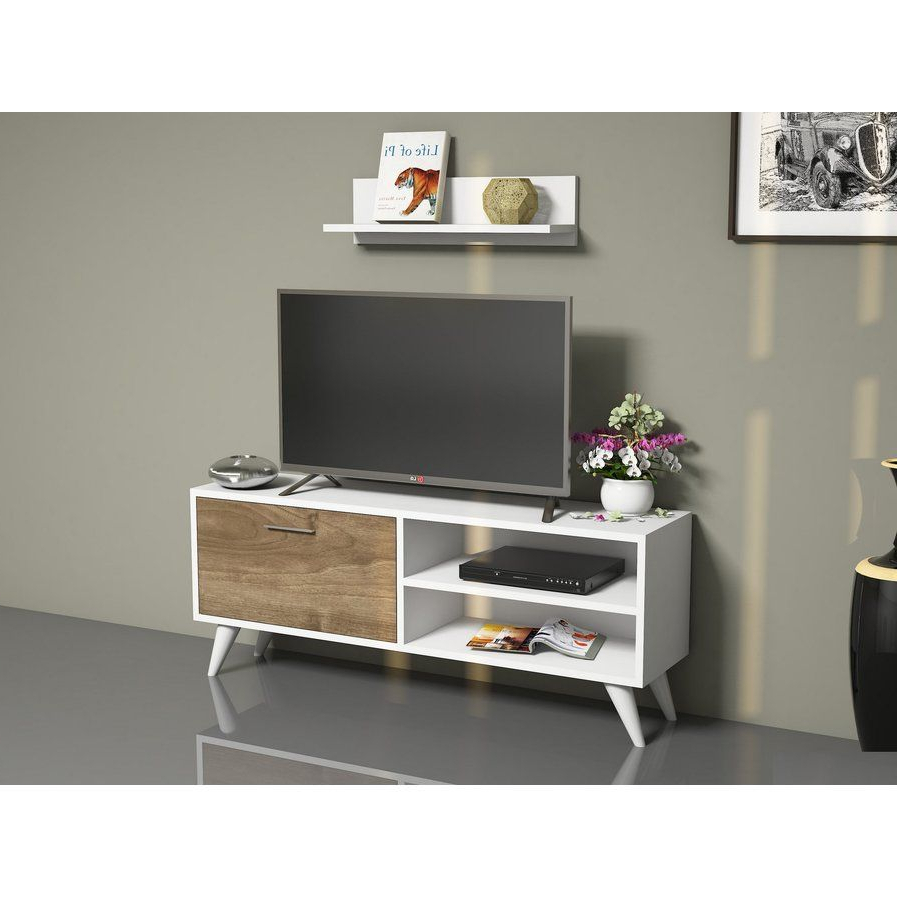 """Tv Stand With Storage, Tv Within 2017 Maubara Tv Stands For Tvs Up To 43"""" (View 2 of 25)"""